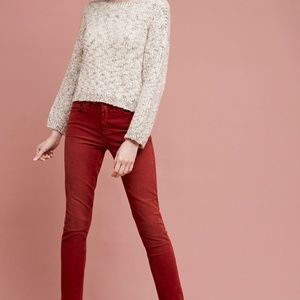 Anthropologie red chords